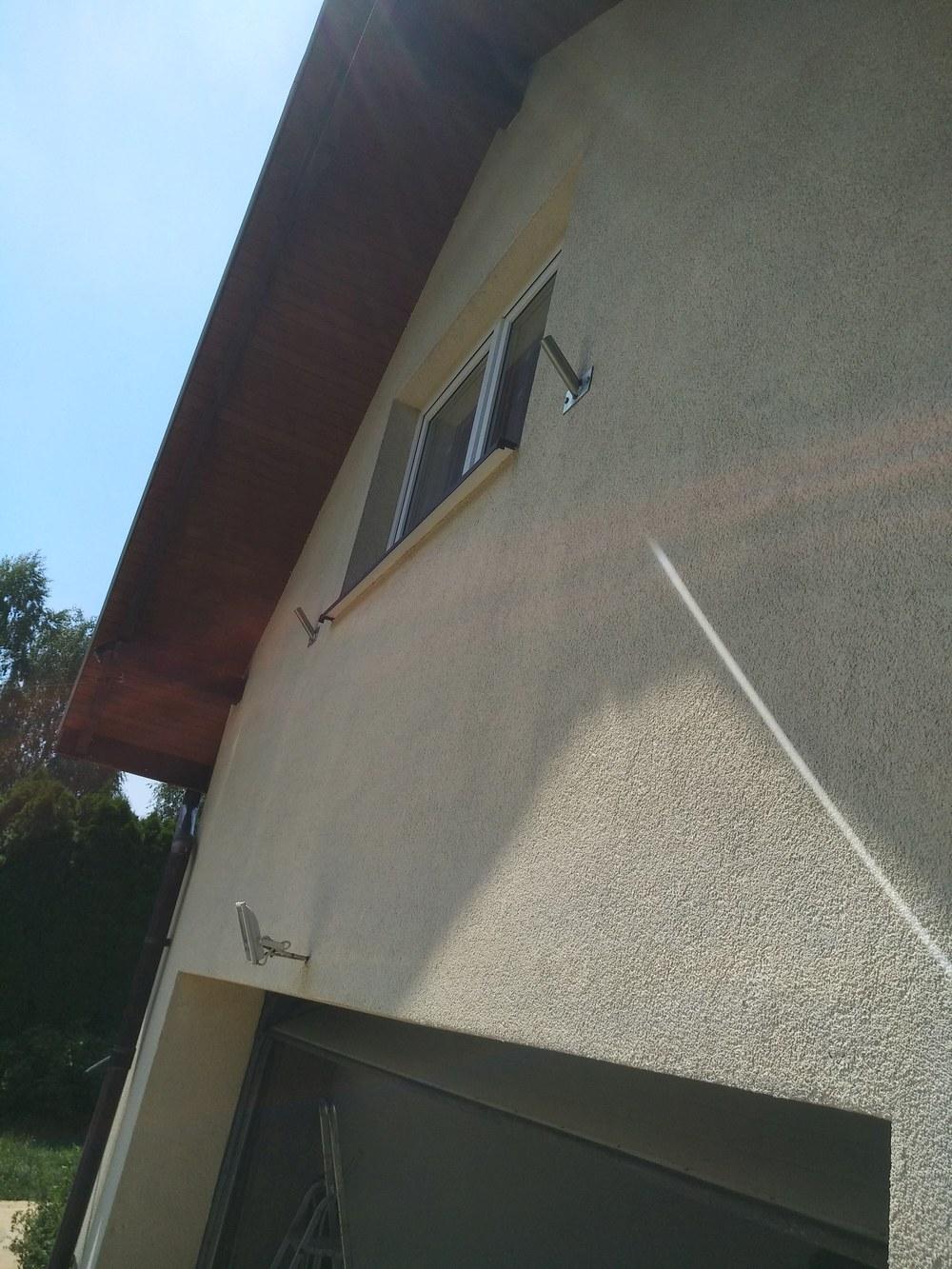 mycie elewacji budynku - efekt po